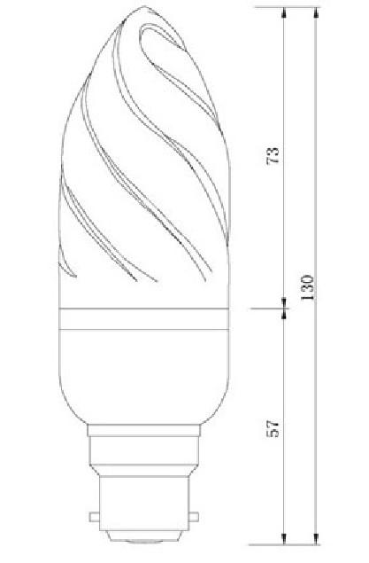 Dimention-ampoule-flamme-B22-27LED-SMD