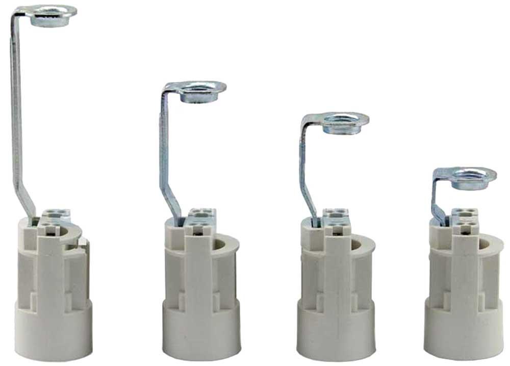 Support fausse bougie d27 sur douille e14 pour tube filet e m10 - Douille pour lustre ancien ...