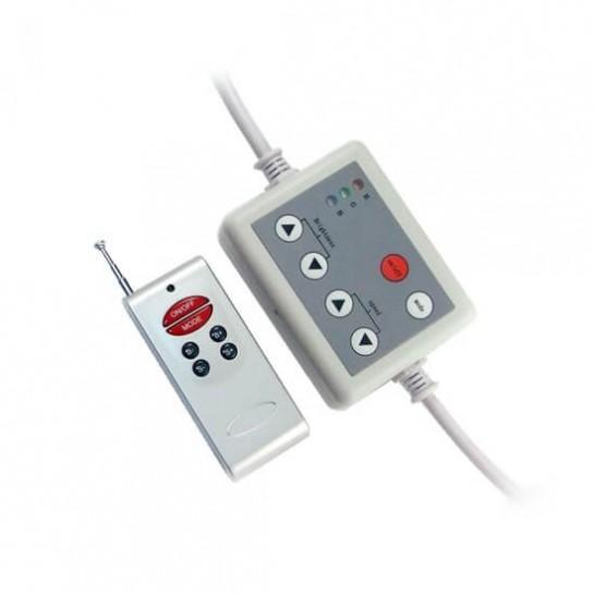 Contrôleur RGB manuel avec télécommande 6 touches radio fréquence