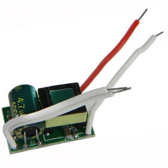 Source de courant constant LED de 5 watts à haut rendement 250 / 280 mA