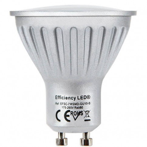 Amazing LED GU10 - Spectra Color 565 Lumens 7w → 75 watts