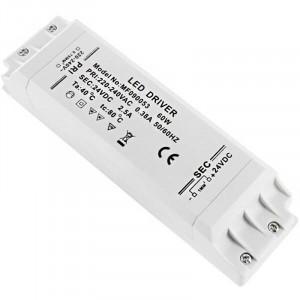 Alimentation LED transformateur compacte de 60 watts - 24 Volts