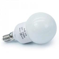 Ampoule 27 leds SMD Sphérique E14