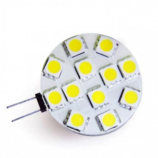 Ampoule 12 leds type 5050 SMD 12 volts culot G4