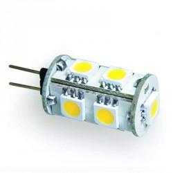 Ampoule 9 leds type 5050 SMD 12 volts culot G4