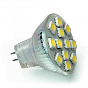 Ampoule 12 leds SMD MR11