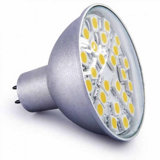Ampoule 24 leds SMD MR16