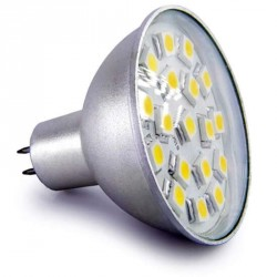 Ampoule 18 leds SMD MR16