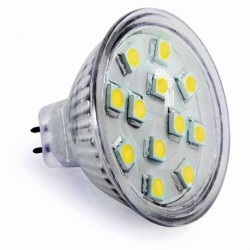 Ampoule 12 leds SMD MR16