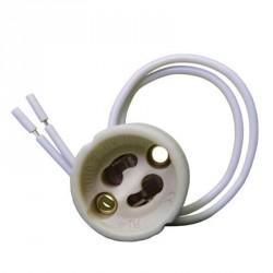 Douille / culot GU10 pour ampoules LED ou halogène