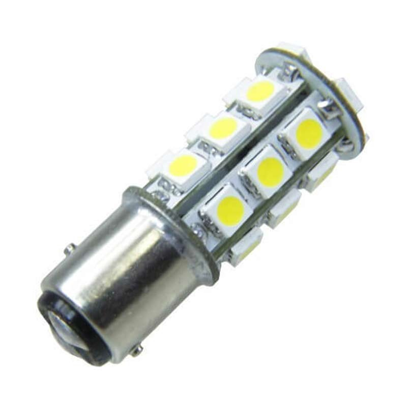 Ampoule led auto 27 led smd 12 volts bay15 d bipolaire - Ampoule led 12 volts ...