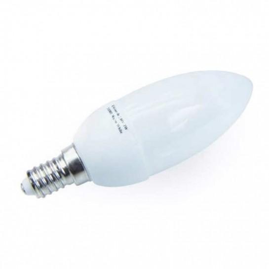 Ampoule 21 leds SMD flamme E14