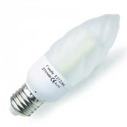 Ampoule 27 leds SMD flamme E27