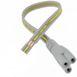 Câble d'alimentation pour réglette Lidéa-LED longueur 50cm