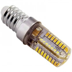 Ampoule Piccoled à culot E14- 230 volts 64 LEDs SMD type 3014