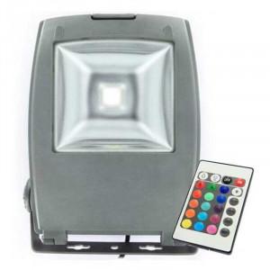 Projecteur LED ultra compact RVB 70 Watts + télécommande IR