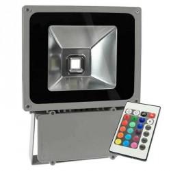 Projecteur LED standard RVB 70 Watts + télécommande IR