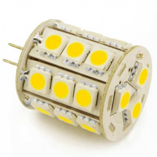 Ampoule 24 LED type 5050 SMD 12 volts culot G4