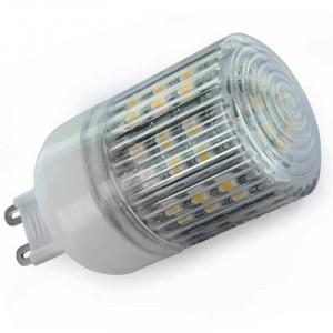 Ampoule 48 LED SMD type 3528 Culot G9 avec diffuseur