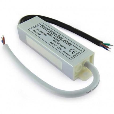 Transformateur 12 volts - 10 watts étanche IP67
