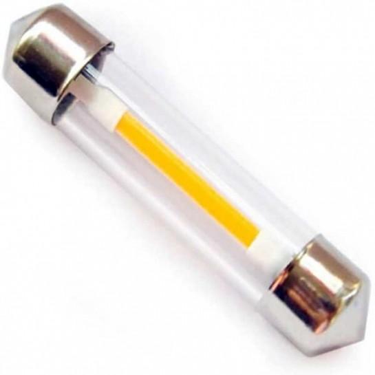 Ampoule navette C5W filament LED longueur de 41 mm