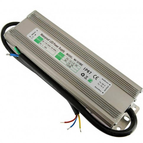 Transformateur 12 volts - sortie unique de 150 watts IP67