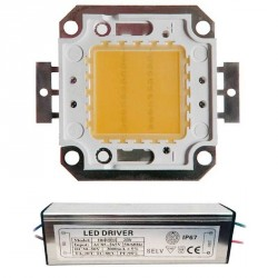 LED Matriciel Chip on board de 20 watts