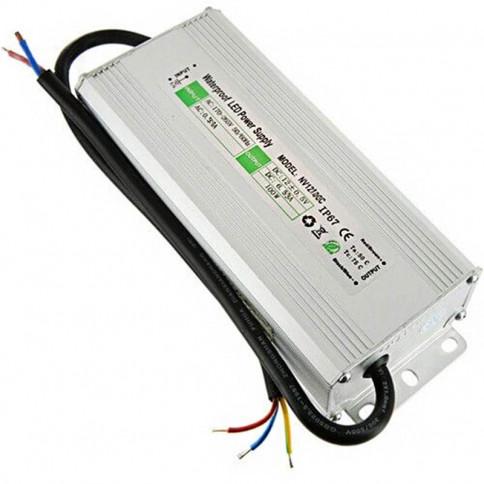 Transformateur 12 volts - sortie unique de 100 watts IP67