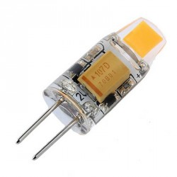 Ampoule LED G4 Piccoled COB 2 watts en DC 12 Volts LED format 0705