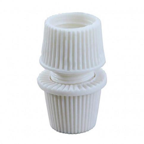 Embout presse étoupe pour tube M10 couleur blanc