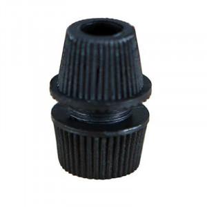 Embout presse étoupe pour tube M10 couleur noir