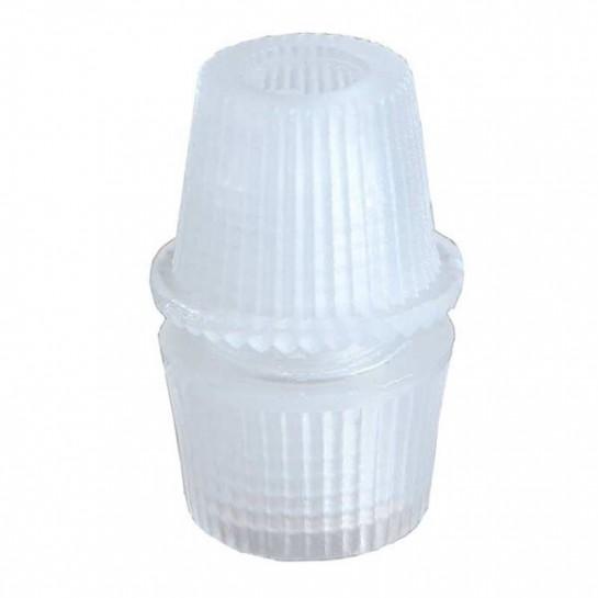 Embout presse étoupe pour tube M10 couleur transparent