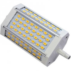 Ampoule R7s 30 watts 64 LED Samsung SMD 5630 118mm