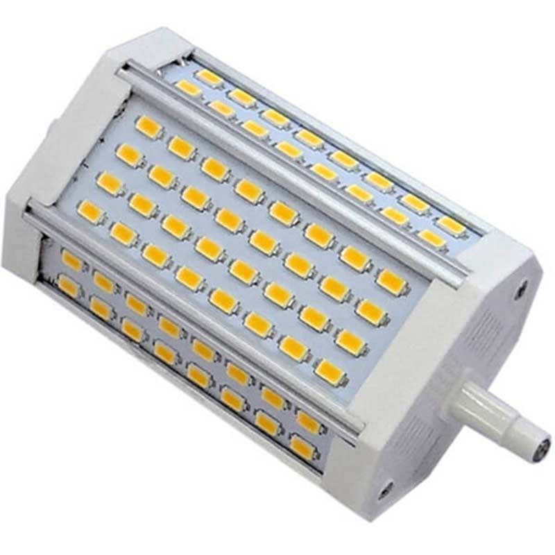 Ampoule R7s Format Crayon 118mm 30 Watts 64 Led Epistar Smd 5630