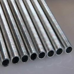 Tube fileté M10 longueur de 71cm à 80cm un accessoire pour douilles d'ampoules