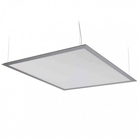 Panneau lumineux LEDs suspendu par câbles 60 watts 600 x 600 mm