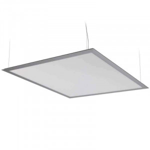 Panneau lumineux LEDs suspendu par câbles 50 watts 600 x 600 mm