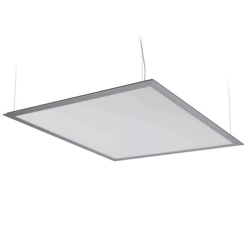 Panneau lumineux led suspendu plat 50w 600x600 mm - Panneau led video ...