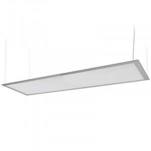 Panneau lumineux LEDs suspendu par câbles 40 watts 300 x 1200 mm