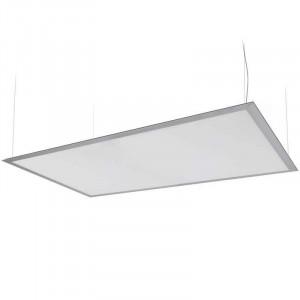 Panneau lumineux LEDs suspendu par câbles 80 watts 600 x 1200 mm