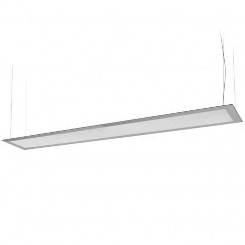 Panneau lumineux LEDs suspendu par câbles 40 watts 160 x 1200 mm