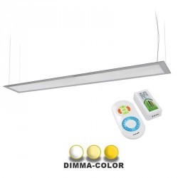 Panneau DIMMA-COLOR suspendu ultra plat 40W 160x1200mm