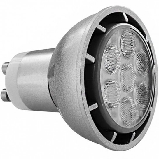 High Power LED GU10 Dimmable Spectra Color 427 Lumens 7 w → 60 watts
