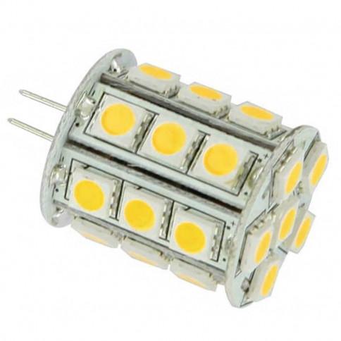 Ampoule 360° -  27 LED type 5050 SMD 12 volts culot G4