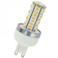 Ampoule 27 LED type 5050 SMD 230 volts culot G9