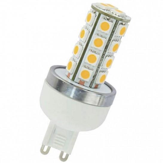 Ampoule 27 LED type 5050 SMD 230 volts culot G9