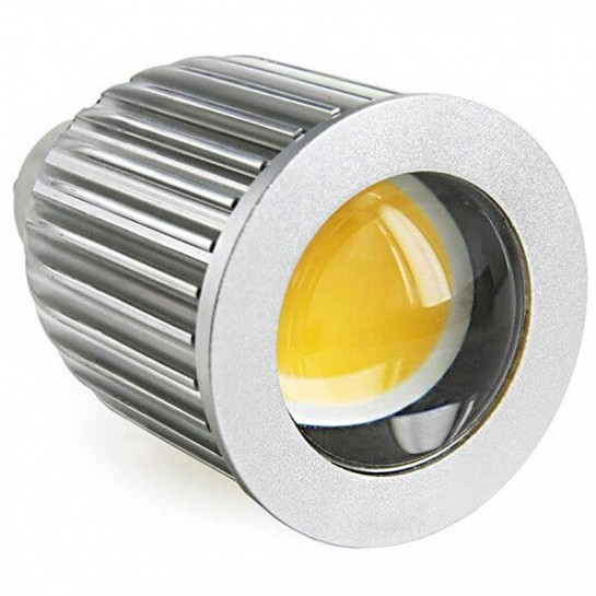 Mono LED HIGH-COB-Dimmable 5 watts Culot GU10