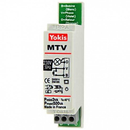 Télévariateur Modulaire Yokis MTV500M