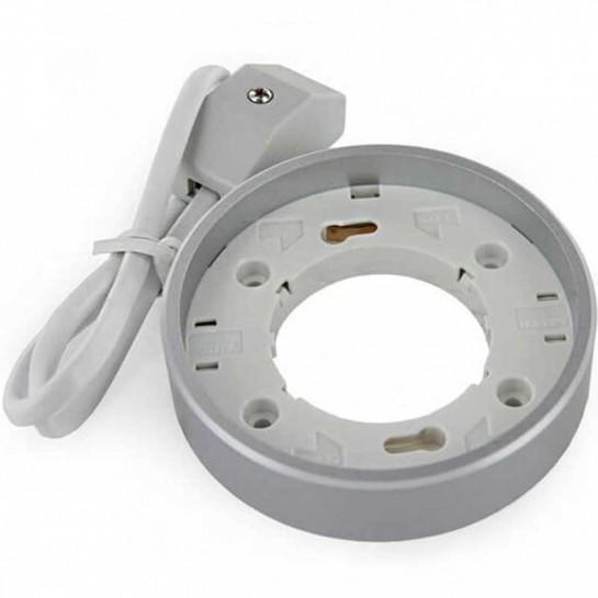 Spot encastré GX53 gris compact
