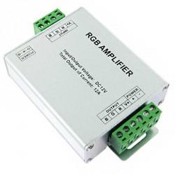 Amplificateur de signal pour rubans LED RGB - 12 ampères